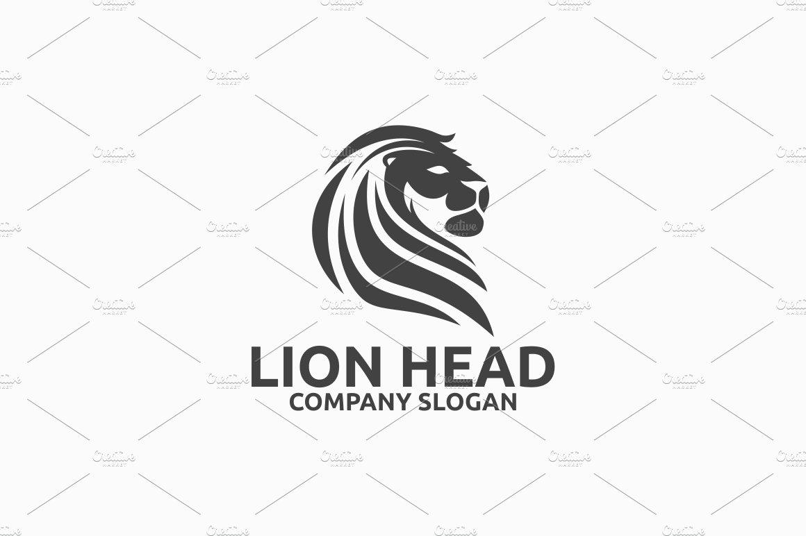 Lion Head Logo ~ Logo Templates ~ Creative Market