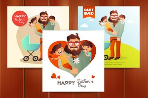 Father's Day Illustrations