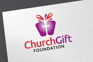 Church Gift Logo Template