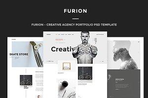 Furion - Creative Portfolio PSD