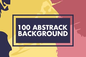 100 Colorful Abstract Background