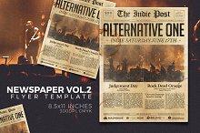 Newspaper Flyer Template Vol.2