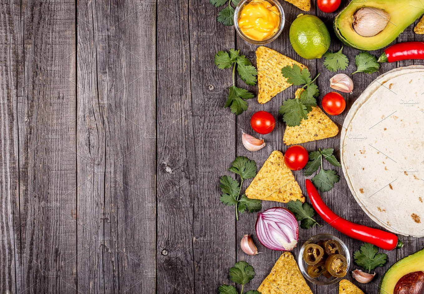 Concept of Mexican food ~ Food & Drink Photos ~ Creative ...