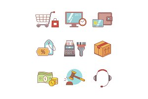 Internet commerce and shopping
