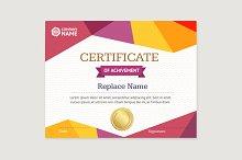 Certificate Template. Vector