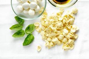 fresh homemade pasta orecchiette