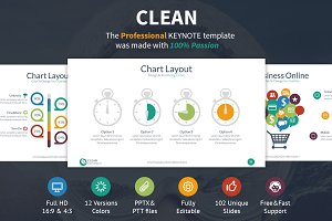 Clean Keynote Presentation