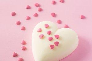 Heart shape popsicles