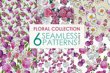 Floral Pattern Collection Vol. 8