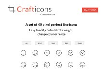 Emotion icons - Crafticons