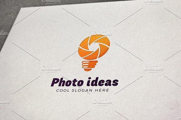 Photo Ideas Vector Logo Template in Logo Templates
