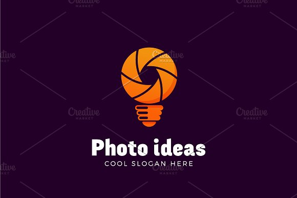 Photo Ideas Vector Logo Template in Logo Templates - product preview 2