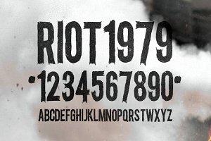 Riot Gothic Condensed