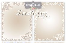 Lace frames 8.5x11inch