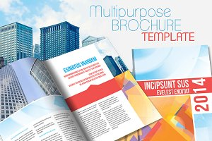 InDesign Brochure Template v2