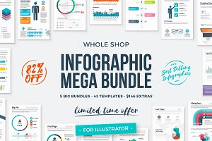 [82% Off] Infographic Mega Bundle