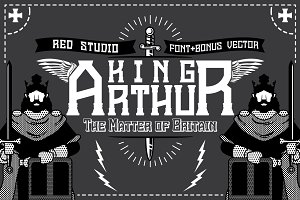 King Arthur Font + Bonus