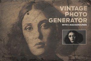 Vintage Photo Generator