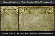 Classical Sculptures Photo Template