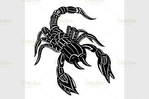 Vector of Abstract scorpion