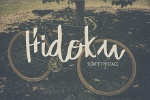 Hidoku Script Typeface