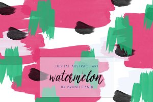Abstract Art Watercolor Background