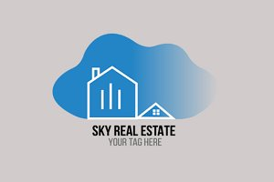 Sky Real Estate Logo V2