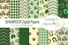 Saint Patrick's Digital Paper Pack