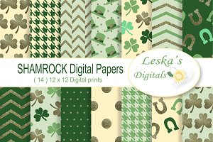 Saint Patrick's Digital Paper Pack