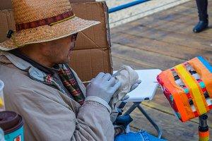 Maker of clay sculptures