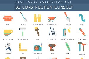 Building & Construction tools icons
