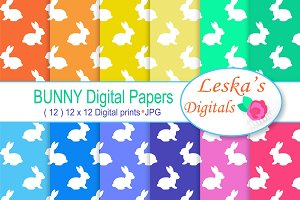 Digital Paper - Bunny Rabbit