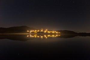 Nanclares de Ganboa at night