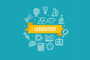 Education Chemistry Science Concept