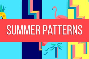 Summer Patterns & Illustration