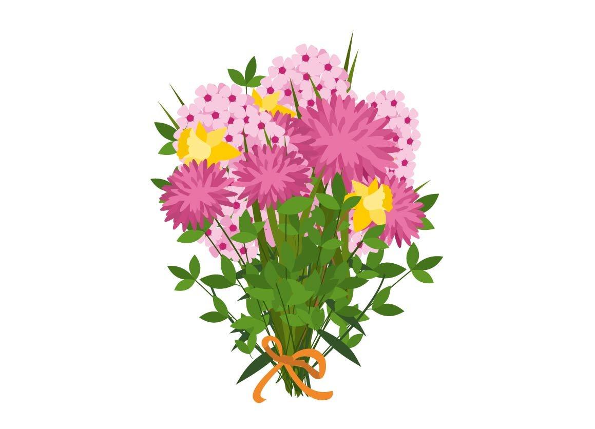 Flower Bouquet Graphics Creative Market