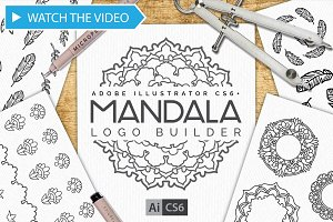 Mandala Logo Creator Kit CS6+