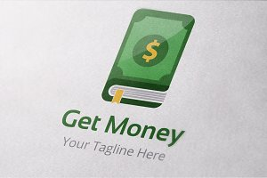 Money Book Logo Templates