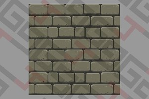 Gray bricks wall