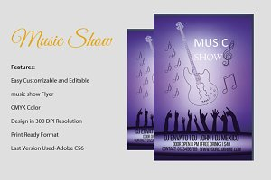 Music show Flyer