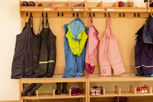 clothing at playschool