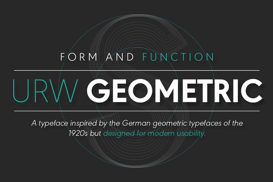 URW Geometric Extra Bold Oblique ~ Sans Serif Fonts ~ Creative Market