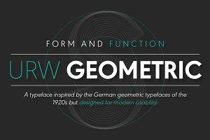 URW Geometric Regular