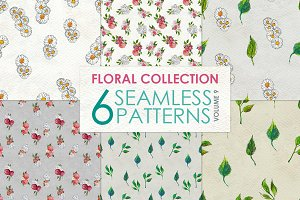Floral Pattern Collection Vol. 9