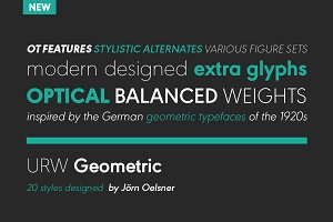 URW Geometric Heavy