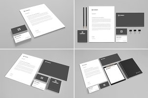 Branding Stationery Mock Up vol. 1