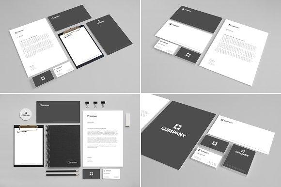 Download Branding Stationery Mock Up vol. 2