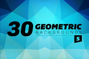 Geometric Backgrounds 30 - 5