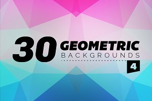 Geometric Backgrounds 30 - 4