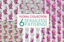 Floral Pattern Collection Vol. 10